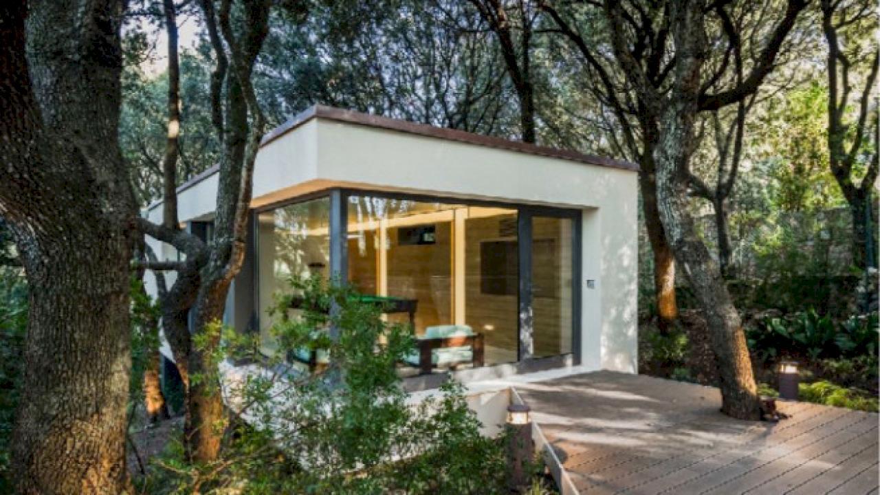 Haus mit Weinberg in Chile zu verkaufen.